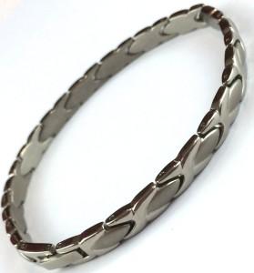 Titanium X & Oval Silver Bracelet/Anklet