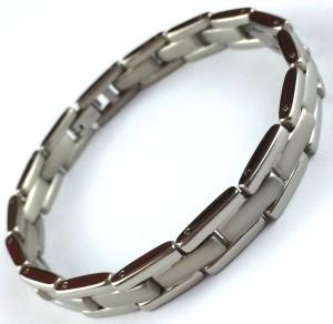Titanium Brick Bracelet