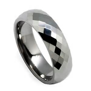 Tungsten Carbide Faceted Diamond Cut